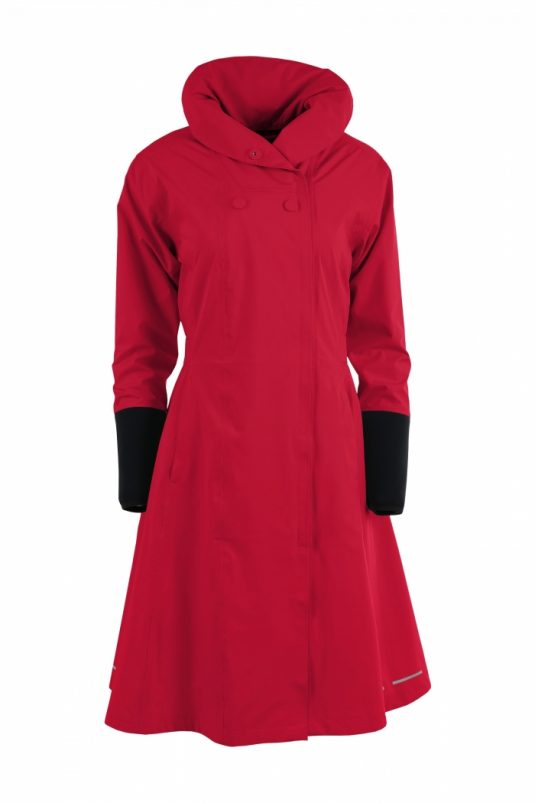 Blaest Barcelona Raincoat Red AW18 1