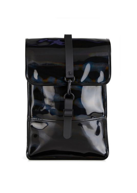 Rains Holographic Backpack Mini Black 1