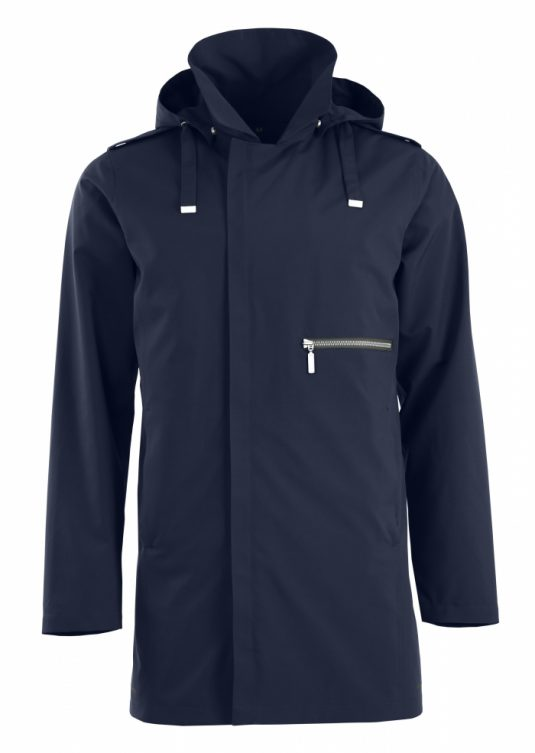 Blaest Stockholm Mens City Raincoat Navy