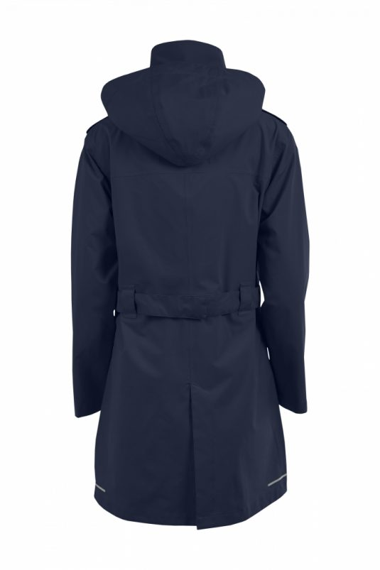Womens Blaest Stockholm City Raincoat Navy