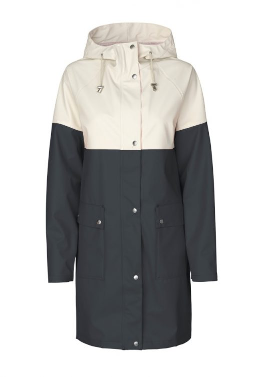 Ilse Jacobsen Colour Block Raincoat Rain112B Light True Rain