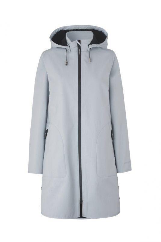 Ilse Jacobsen Rain128 Soft Shell A line raincoat