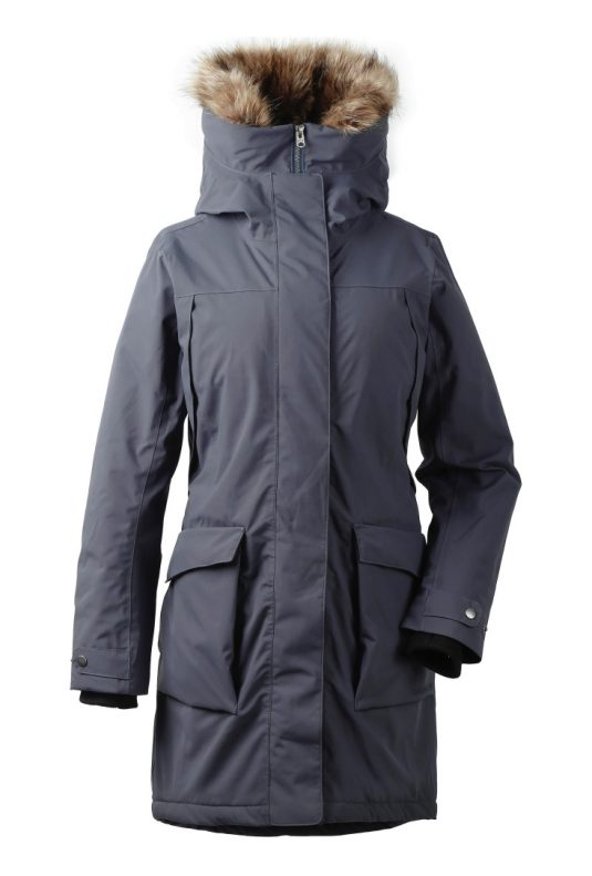 DD Malou Womens Parka Navy Dust 1