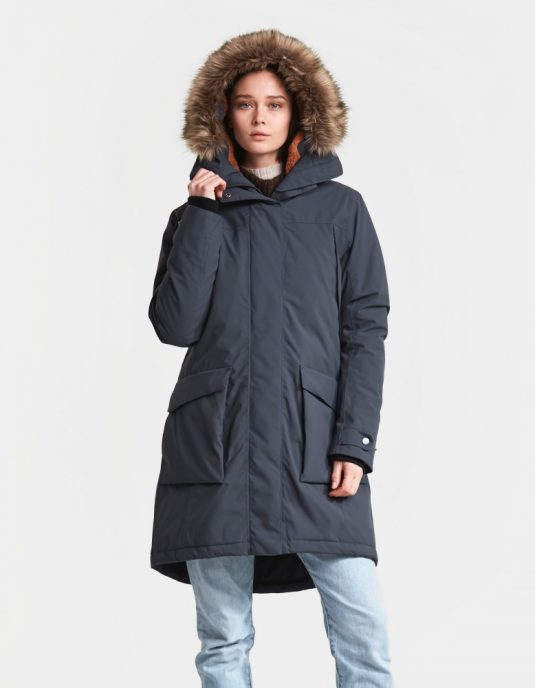 DD Malou Womens Parka Navy Dust 3
