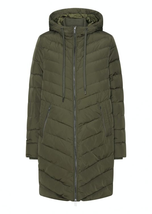 Ilse Jacobsen Peppy01 warm winter down coat army green