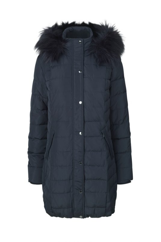 Ilse Jacobsen Winter Down Coat HIGH02 Dark Indigo 1