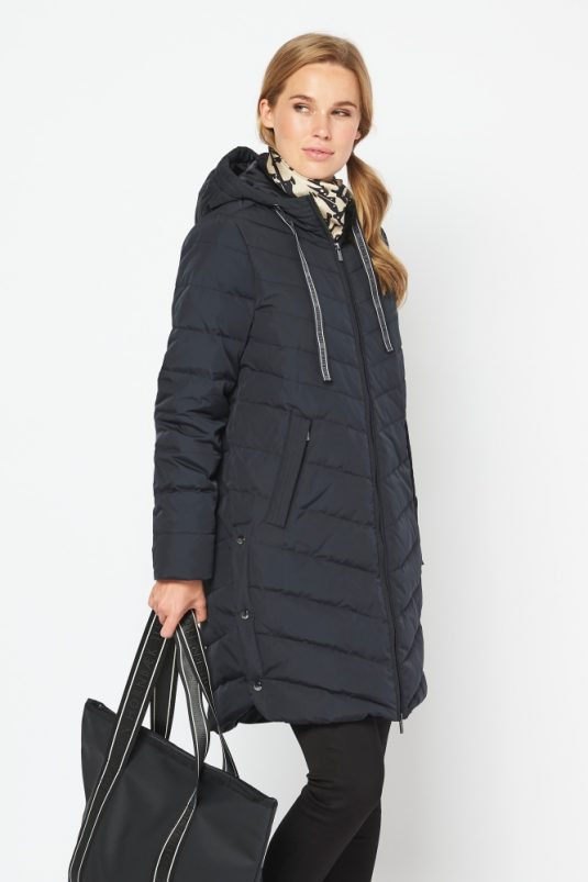 Ilse Jacobsen Winter Coat PEPPY01 Black 1