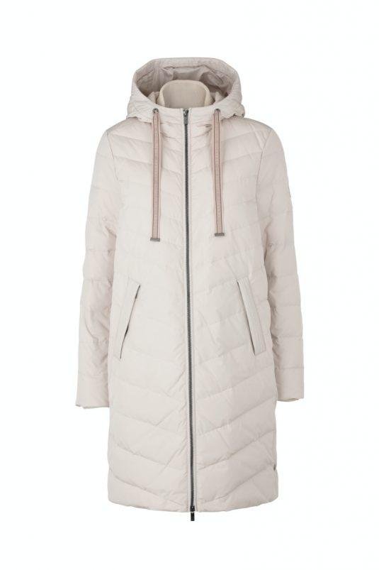 Ilse Jacobsne Warm Winter Down Coat Peppy01 Kit Cream White