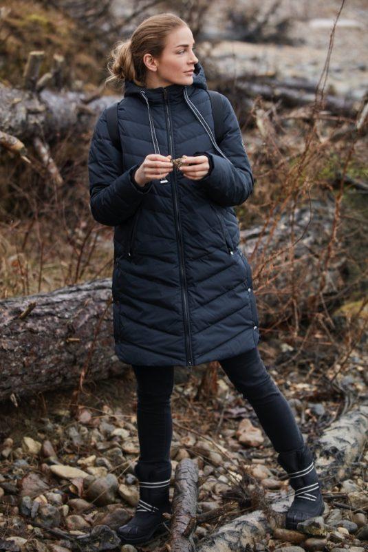 Ilse Jacobsne Warm Winter Down Coat Peppy01 Black