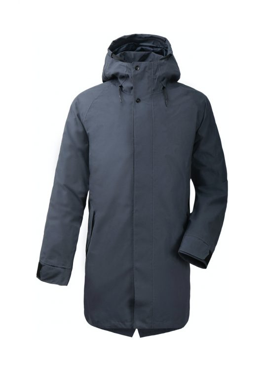 Didriksons Originals Mens Odd Waterproof Parka Raincoat Navy Dust