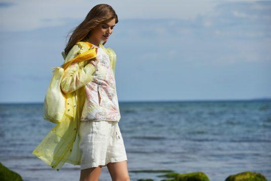 Ilse Jacobsen Clear Rain Rain134 Raincoat Sunbeam Yellow