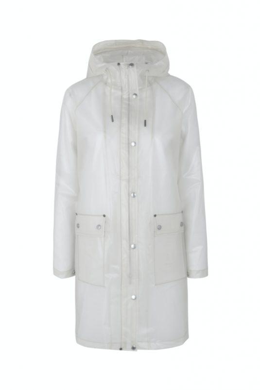 Ilse Jacobsen Clear Rain Rain134 Raincoat White