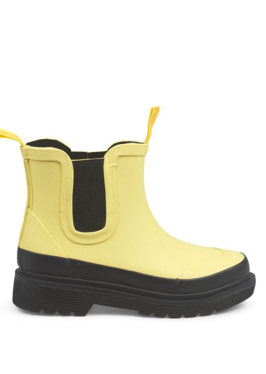 Ilse Jacobsen Short Rubber Boots Yellow Rub30C