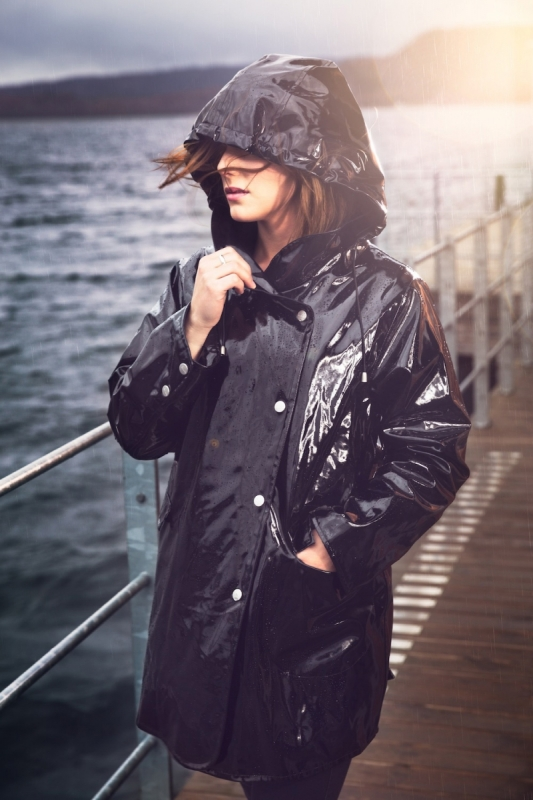 Osregn Swagger Raincoat Black 2