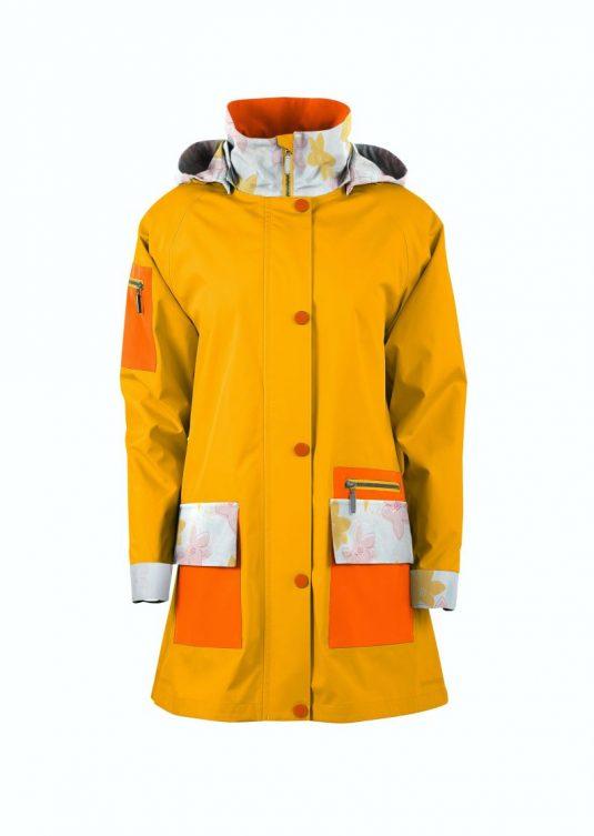AE Rainwear Copenhagen Raincoat Navy Blue