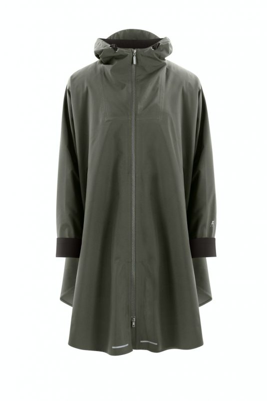 AE Rainwear Blaest Berlin Poncho Rain Cape Dark Olive