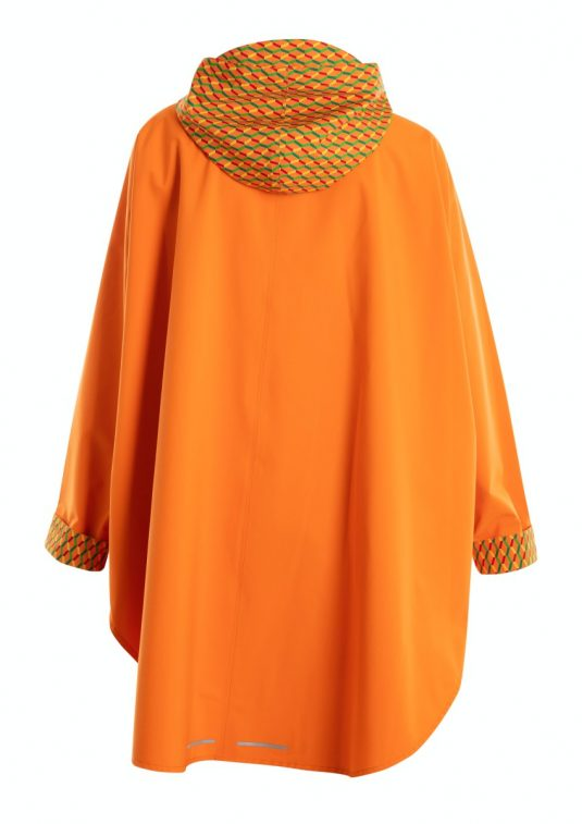AE Rainwear Blaest Berlin Poncho Cape Rain Orange