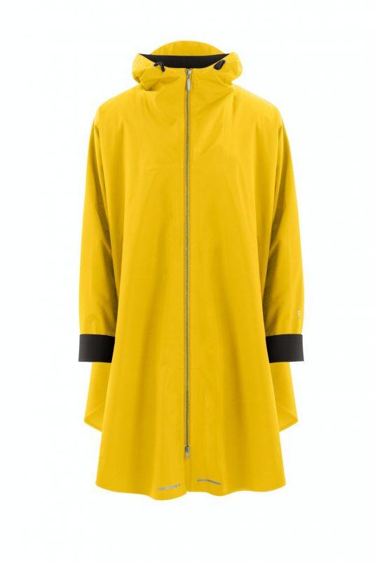 AE Rainwear Blaest Berlin Poncho Rain Cape Yellow