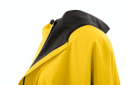 AE Rainwear Blaest Berlin Poncho Rain Cape Yellow