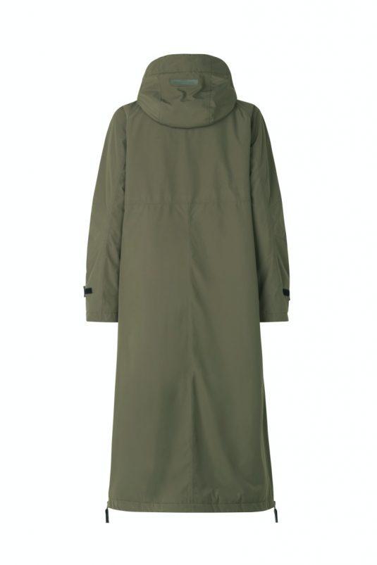 Ilse Jacobsen Rain150 Dandy Rain Warm Winter long Raincoat Brown Black Army Green