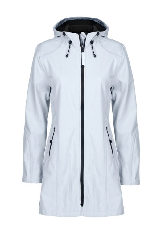 Ilse Jacobsen Soft Shell Raincoat (Style Rain07) - Black