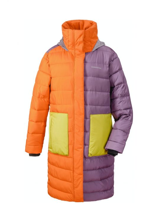 Didriksons Hilda Puff Parka Winter Coat Multicoloured