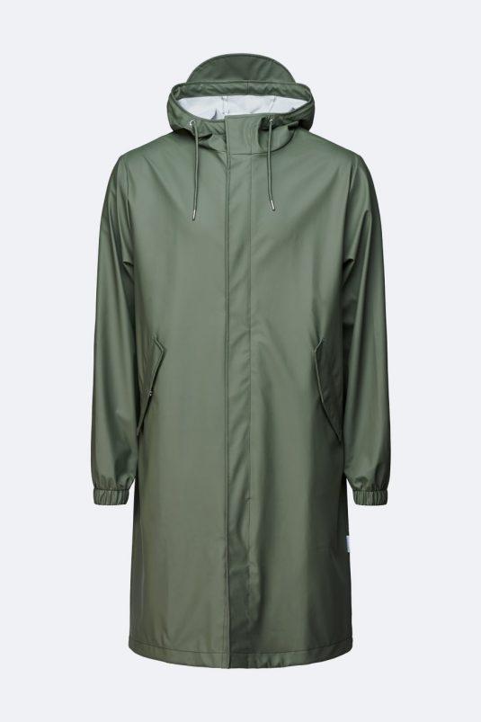 Rains Fishtail Parka Olive Green 1