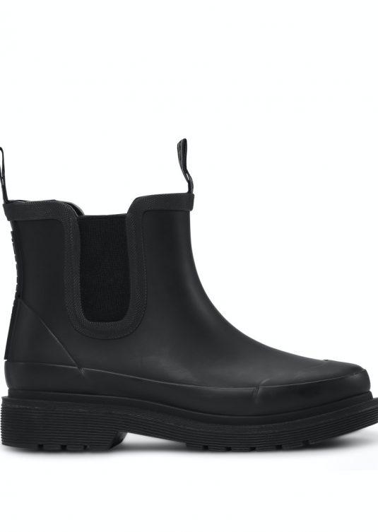 Ilse Jacobsen Rub30C short rubber boots black waterproof